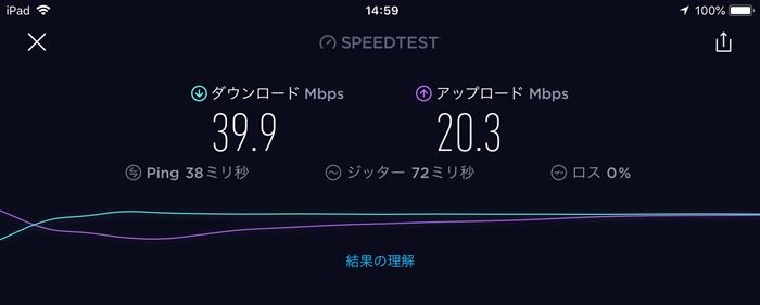 ポケットWi-Fi3台接続速度