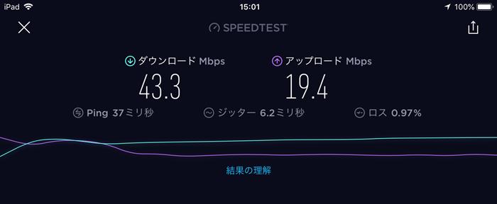 ポケットWi-Fi1台接続速度