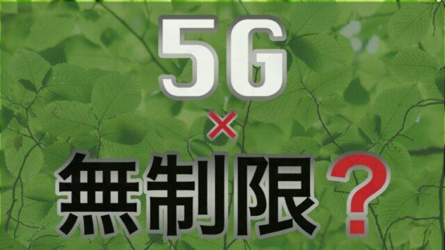 5G無制限